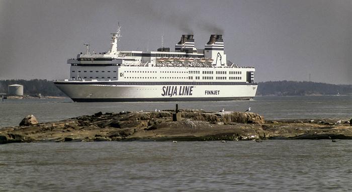 Helsinki Ostsee: GTS Finnjet (Silja Line)