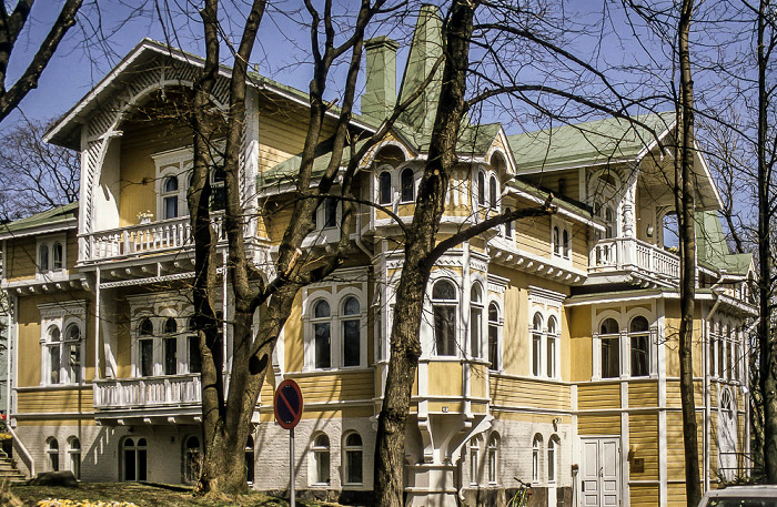 Helsinki Kaivopuisto: Holzhaus