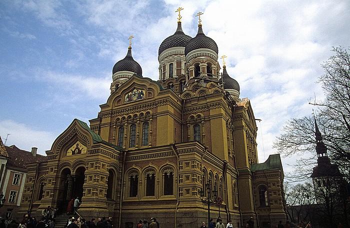 Altstadt: Domberg - Alexander-Newski-Kathedrale Tallinn 1993