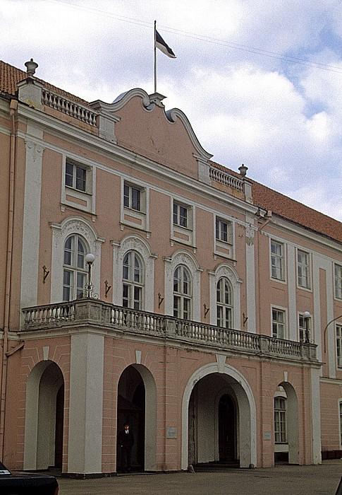 Altstadt: Domberg - Castrum Danorum, Sitz des Riigikogu (estnisches Parlament) Tallinn 1993