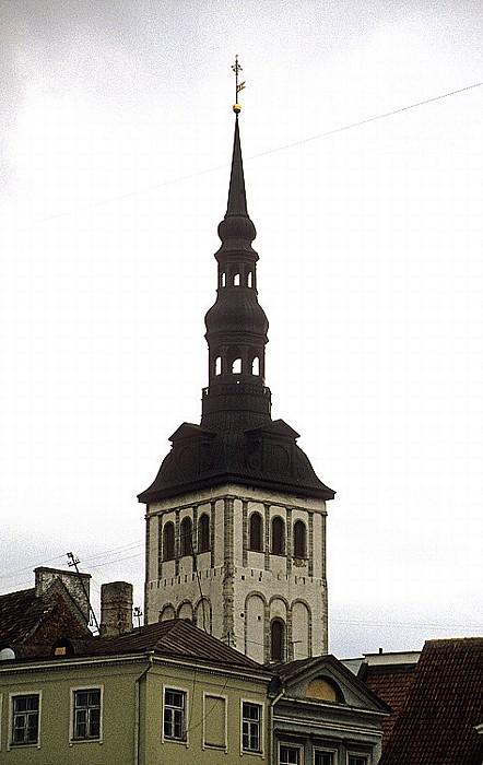 Altstadt: Unterstadt - Nikolaikirche (Niguliste kirik) Tallinn 1993