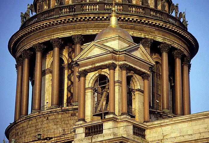 Sankt Petersburg Isaakskathedrale: Kuppel