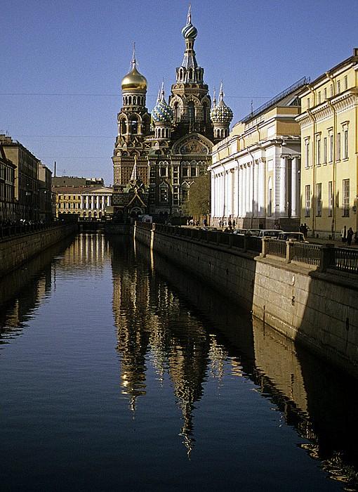 Sankt Petersburg Gribojedow-Kanal, Auferstehungskirche (Blutkirche, Erlöserkirche, Bluterlöser-Kirche)
