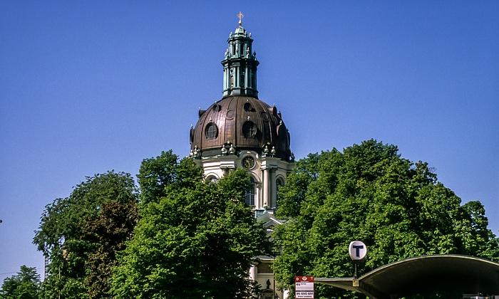 Norrmalm: Gustaf Vasa kyrka (Gustav-Wasa-Kirche) Stockholm 1993