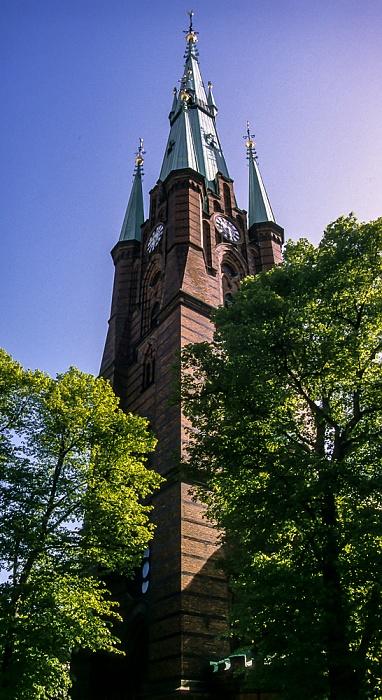 Norrmalm: Klarakirche (Klara kyrka) Stockholm 1993