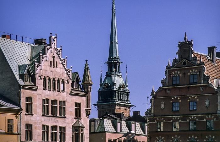 Altstadt Gamla stan: Tyska kyrkan (Deutsche Kirche) Stockholm 1993