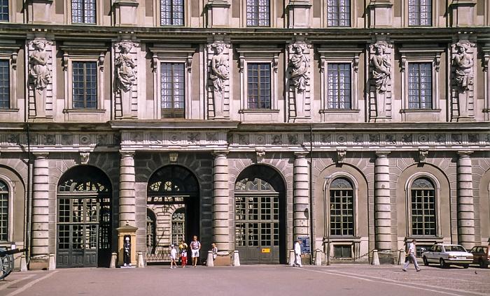 Altstadt Gamla stan: Stockholmer Schloss (Stockholms slott) Stockholm 1993