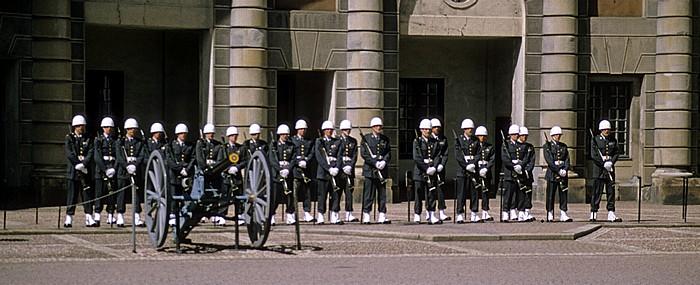 Stockholmer Schloss: Wachablösung Stockholm 1993