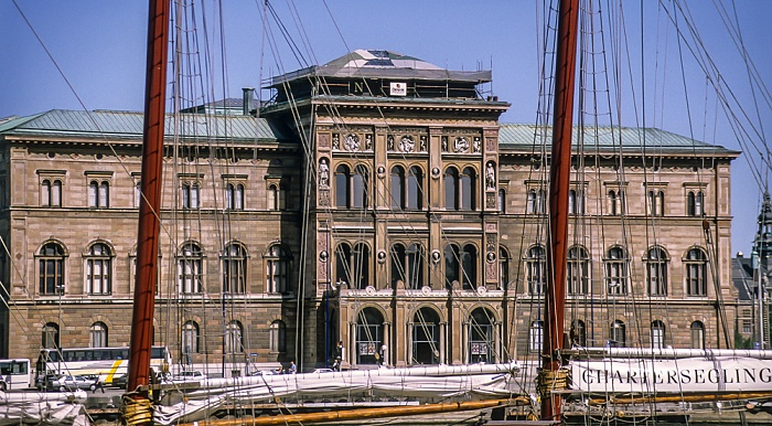 Norrmalm: Blasieholmen - Schwedisches Nationalmuseum Stockholm 1993