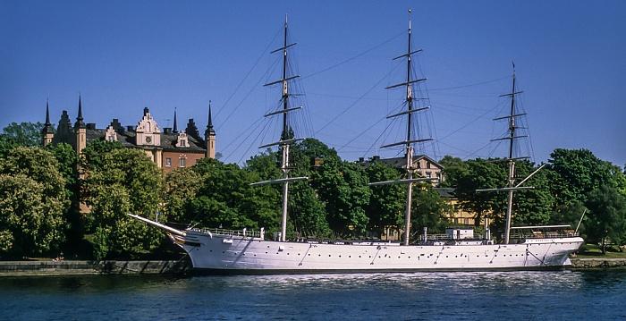 Skeppsholmen: Segelschiff Af Chapman Stockholm 1993