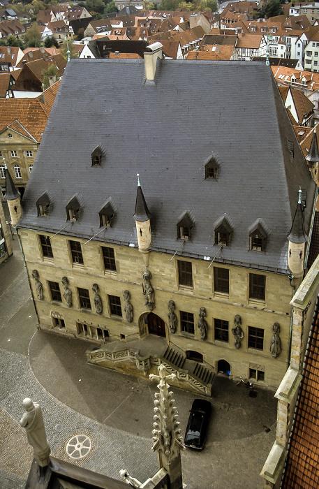 Osnabrück Blick von der Marienkirche: Rathaus