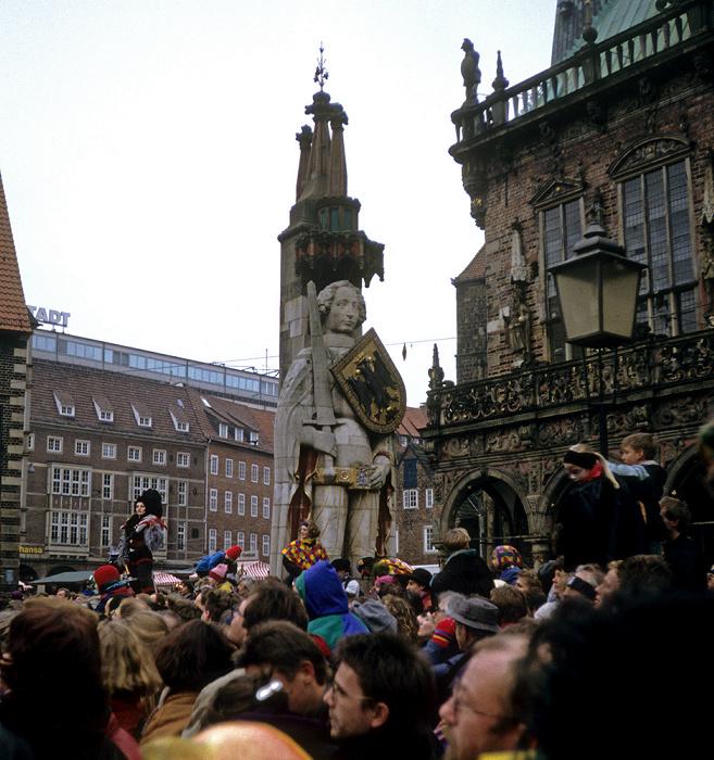 Bremen Marktplatz: Roland Rathaus