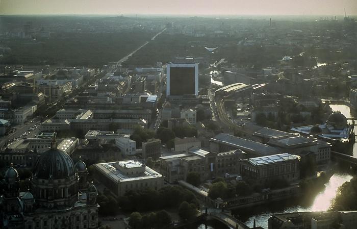 Blick vom Fernsehturm Berlin 1994
