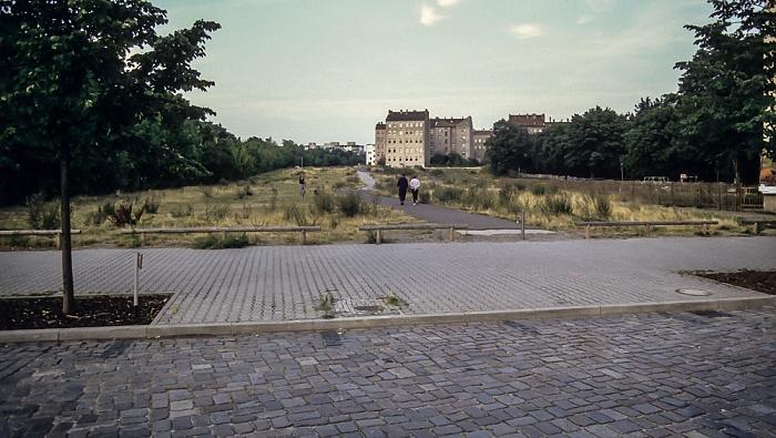 Ehem. Verlauf der Berliner Mauer Berlin 1994