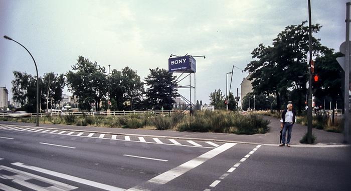 Potsdamer Platz / Potsdamer Straße: Areal des künftigen Sony Centers Berlin 1994