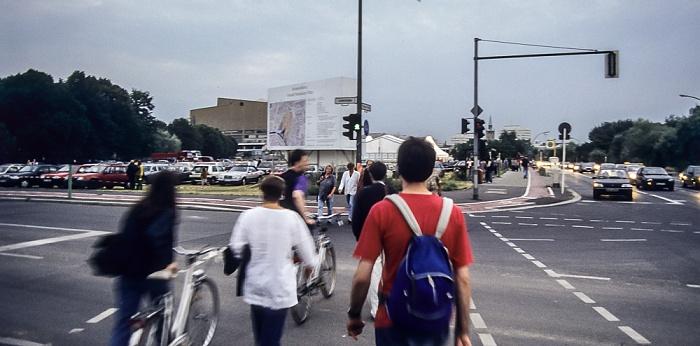 Potsdamer Platz / Potsdamer Straße: Areal des künftigen Quartier Daimler Berlin 1994