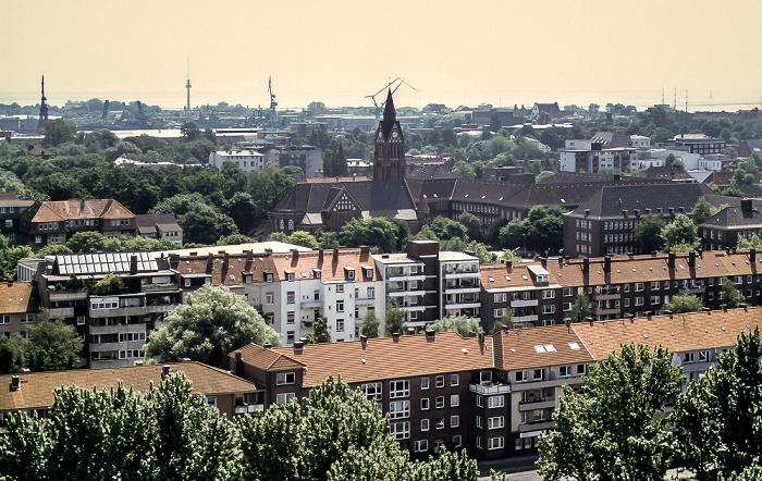 Wilhelmshaven Blick vom Rathausturm
