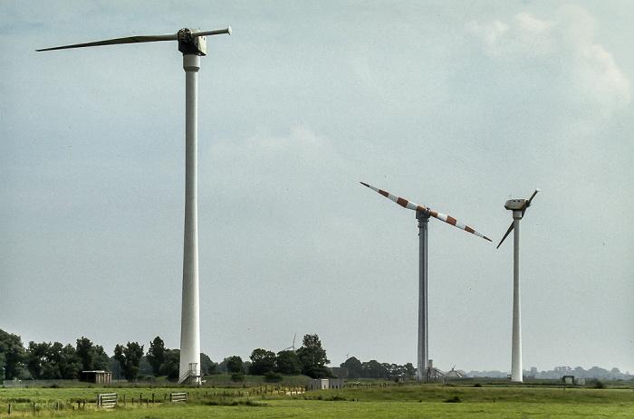 Wilhelmshaven DEWI-Testfeld (Deutsche Windenergie Institut, Jade-Windpark): Windkraftanlagen