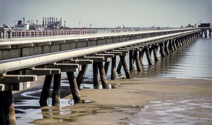 Wilhelmshaven Erdölentladehafen