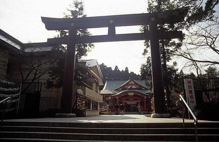 Sendai Torii, Tempel