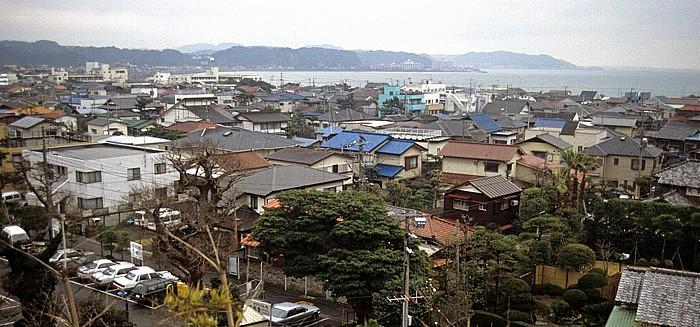 Kamakura Blick vom Kaikozan Hase-dera Hase-Dera-Tempel