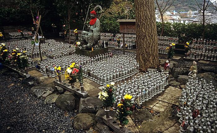 Kamakura Kaikozan Hase-dera: Jizo-Statuen Hase-Dera-Tempel
