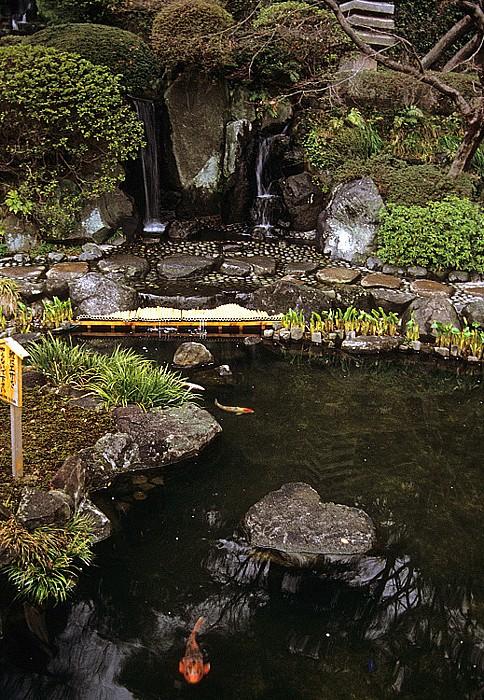Kamakura Kaikozan Hase-dera: Gartenanlage Hase-Dera-Tempel