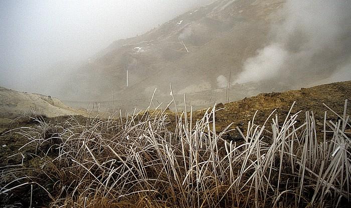 Fuji-Hakone-Izu-Nationalpark Heiße Quellen / Solfatare