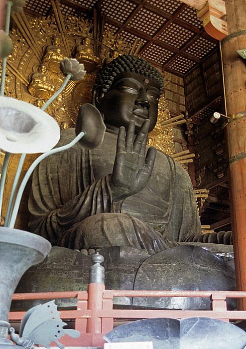 Todaiji-Tempel: Großer Buddha (Daibutsu) Nara