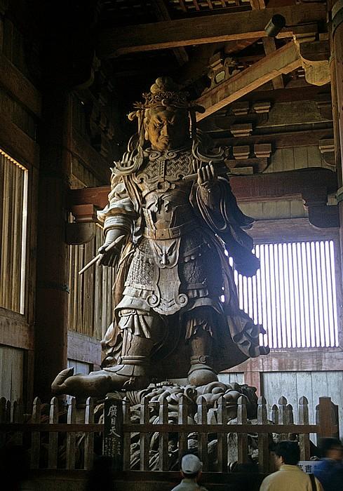 Todaiji-Tempel: Wächterfigur Nara