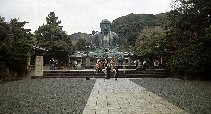 Kamakura Kotoku-in: Großer Buddha (Daibutsu)