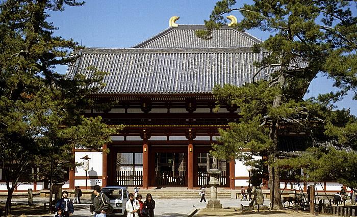 Todaiji-Tempel: Chu-mon-Tor Nara