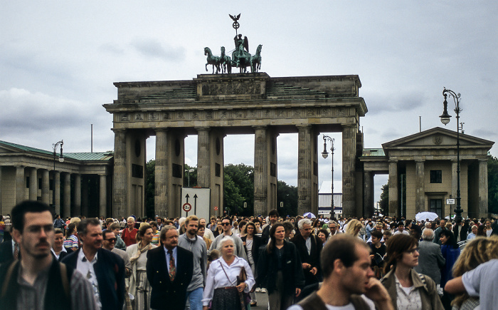 Pariser Platz, Brandenburger Tor Berlin 1995