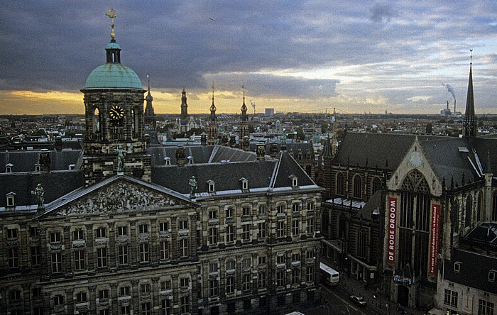 Königlicher Palast und Neue Kirche Amsterdam