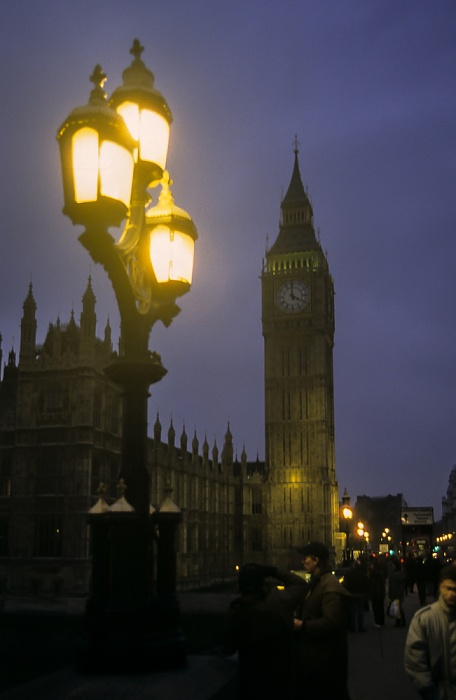 City of Westminster: Houses of Parliament, Big Ben London 1995