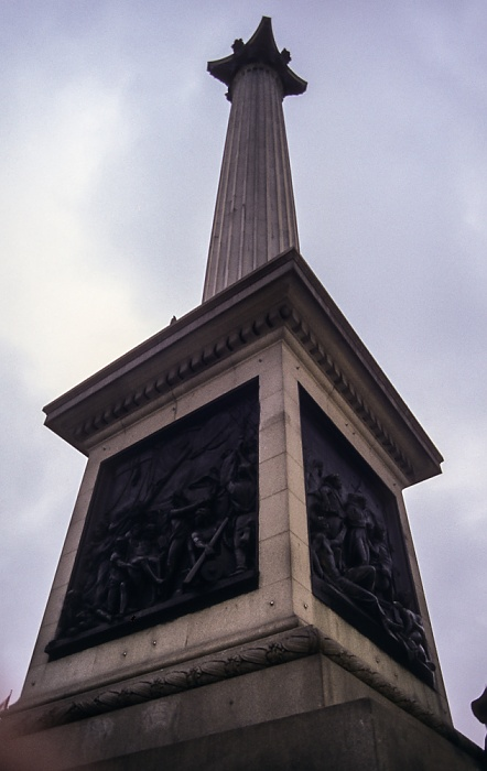 City of Westminster: Trafalgar Square - Nelson's Column London 1995