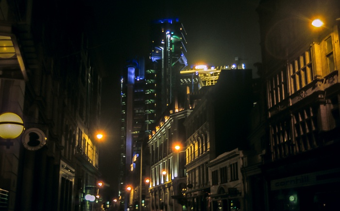 City of London: Leadenhall Street London 1995