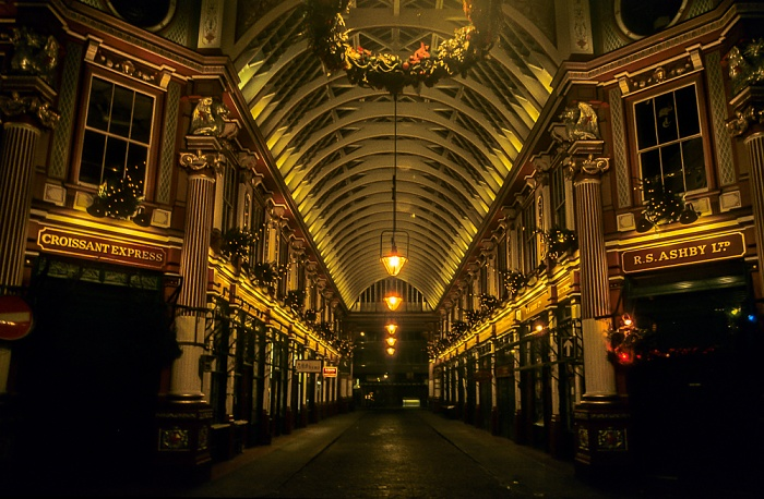 City of London: Leadenhall Market London 1995