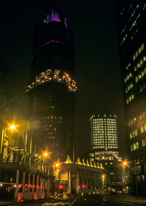 City of London: Bishopsgate - Tower 42 (National Westminster Tower) London 1995