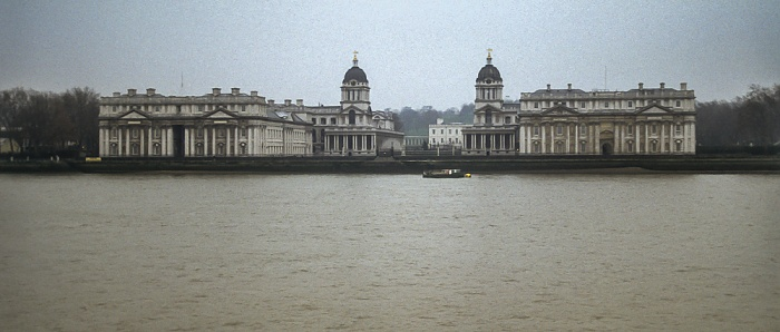 Greenwich: Themse, Old Royal Naval College London 1995