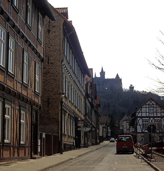 Wernigerode Altstadt Schloss