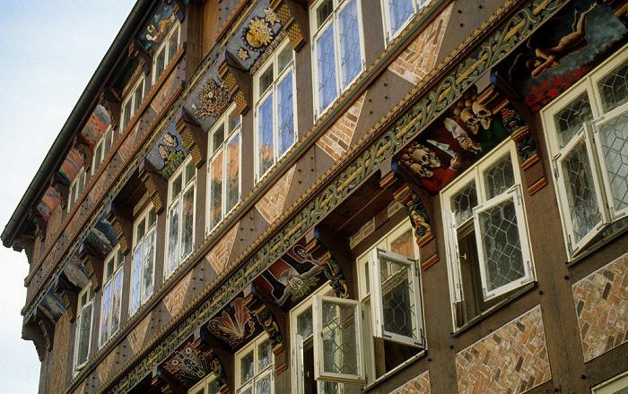 Hildesheim Marktplatz: Knochenhaueramtshaus