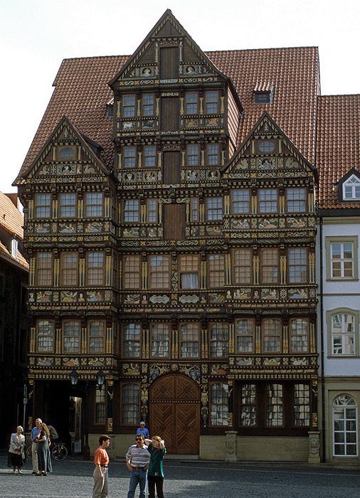 Hildesheim Marktplatz: Wedekindhaus