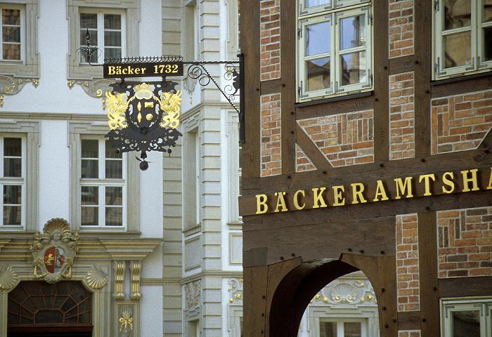 Hildesheim Marktplatz: Bäckeramtshaus
