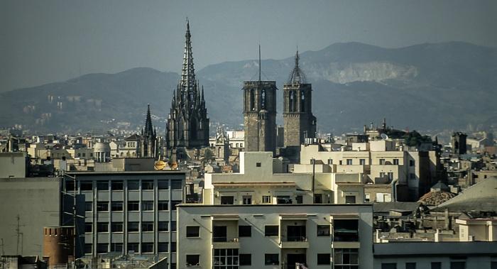 Ciutat Vella: Barri Gòtic - Catedral de la Santa Creu i Santa Eulàlia Barcelona 1996