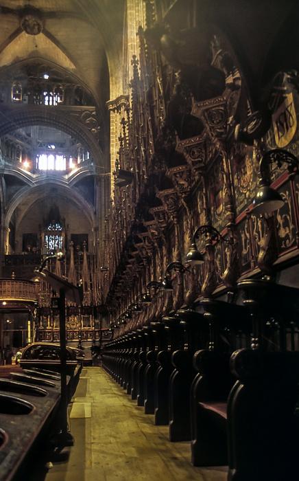Catedral de la Santa Creu i Santa Eulàlia Barcelona 1996