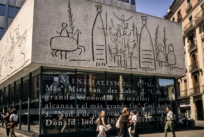 Ciutat Vella: Barri Gòtic - Col·legi d'Arquitectes de Catalunya Barcelona 1996