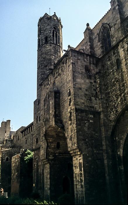 Ciutat Vella: Barri Gòtic - Capella de Santa Àgueda Barcelona 1996