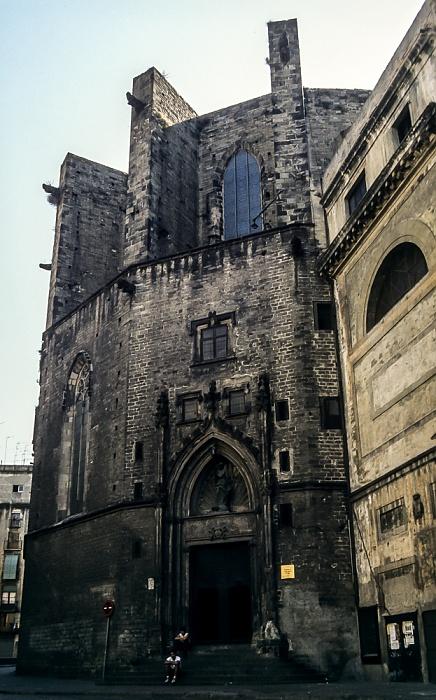 Ciutat Vella: Sant Pere, Santa Caterina i la Ribera - Santa Maria del Mar Barcelona 1996