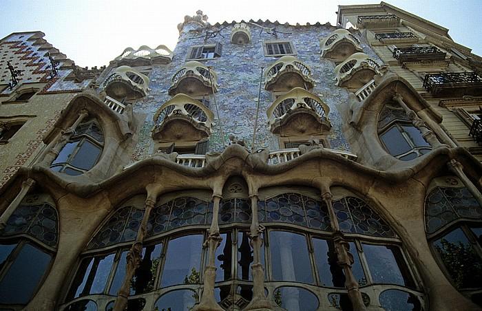 Eixample: Passeig de Gràcia - Casa Batlló Barcelona 1996